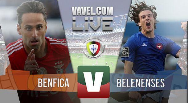 Resultado Benfica 6x0 Belenenses na Liga NOS 2015