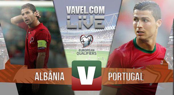 Albânia x Portugal na Qualificação do Euro 2016 (0-1)