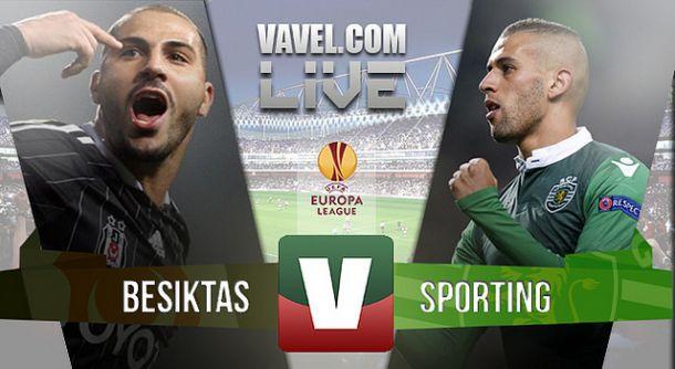 Resultado Besiktas x Sporting na UEFA Liga Europa (1-1)