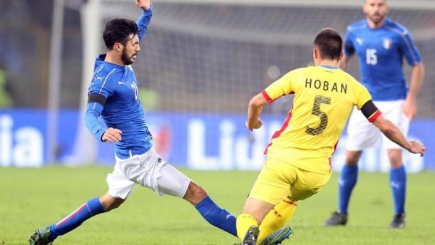 Italia rimandata: è 2-2 con la Romania