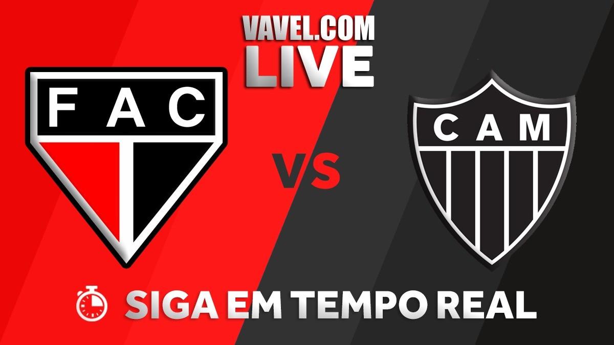 Resultado Ferroviário x Atlético-MG na Copa do Brasil (2-2)