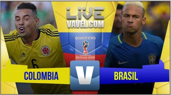 Resultado Colombia vs Brasil en Eliminatorias Rusia 2018 (1-1)