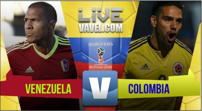 Venezuela y Colombia empataron en las Eliminatorias Rusia 2018 (0-0)