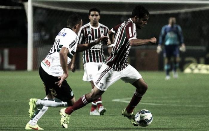Com desfalques, Fluminense e Coritiba se enfrentam no Rio e buscam embalar no Brasileirão