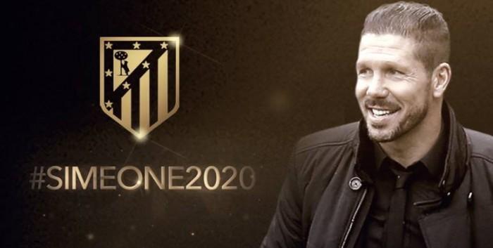 Simeone Atletico Madrid, ufficiale il rinnovo