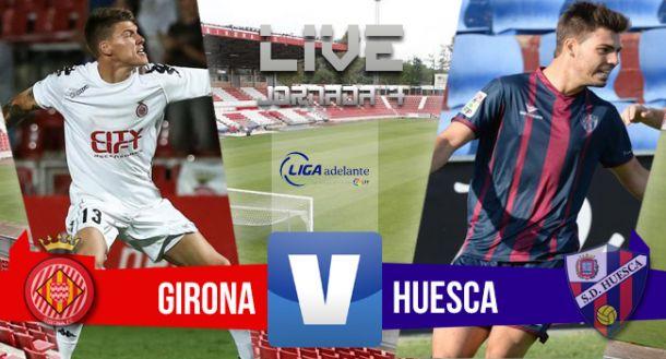 Resultado Girona vs Huesca en Liga Adelante 2015 (0-0)