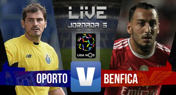 Resultado Porto - Benfica en la Liga Portuguesa 2015 (1-0)