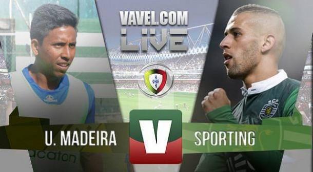 Resultado União Madeira x Sporting na Liga NOS 2015 (1-0)