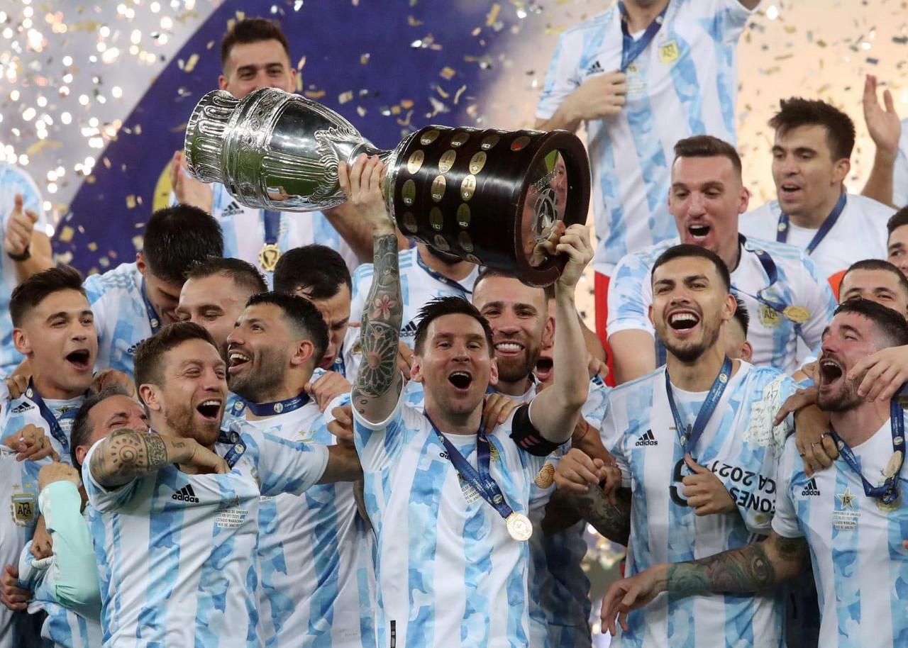 Leo Messi, rey de América