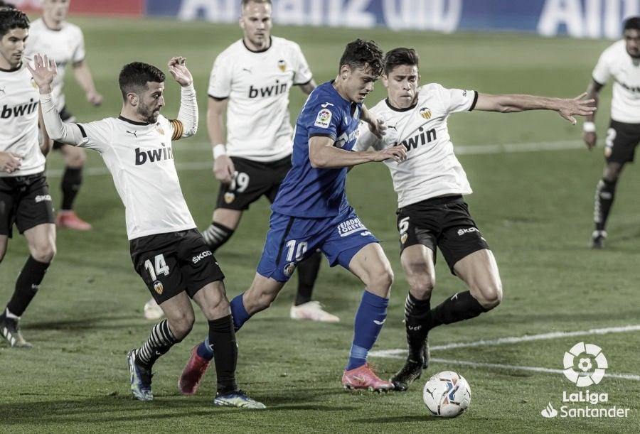 Valencia CF, primer rival del Getafe en la Liga 2021-2022