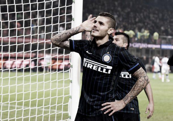 Com novo pênalti no fim, Icardi marca e decreta vitória da Inter sobre a Sampdoria