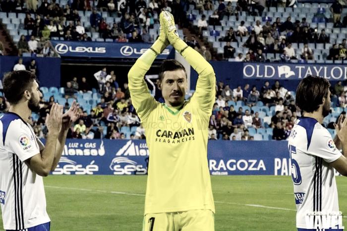 Cristian Álvarez el mejor jugador en El Molinón, según los aficionados