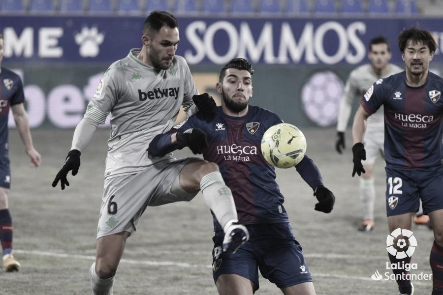 Emerson y Víctor Ruiz no se congelaron en Huesca