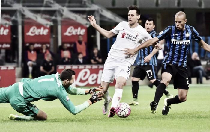 Inter-Fiorentina, le formazioni ufficiali: Banega e Ranocchia 1'. Out Vecino, c'è Tello