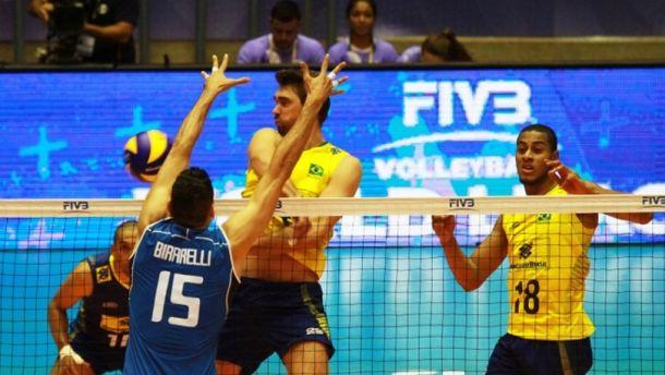 Volley, World League maschile: il Brasile dispone dell'Italia