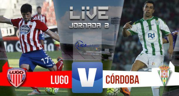 Resultado CD Lugo - Córdoba CF en Liga Adelante 2015 (1-2)
