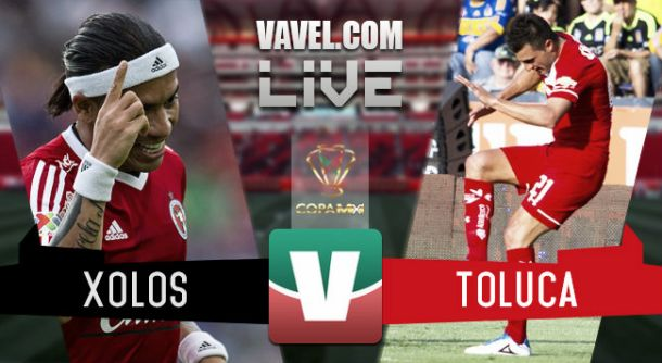 Resultado Tijuana - Toluca en Copa MX 2015 (2-2)
