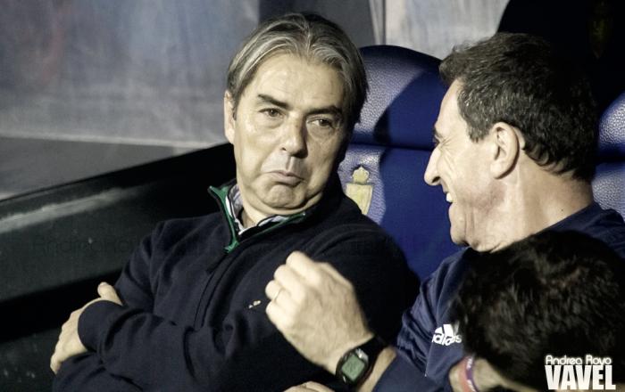 "Natxo González: ""No podemos hacer otra cosa que no sea rotar"""