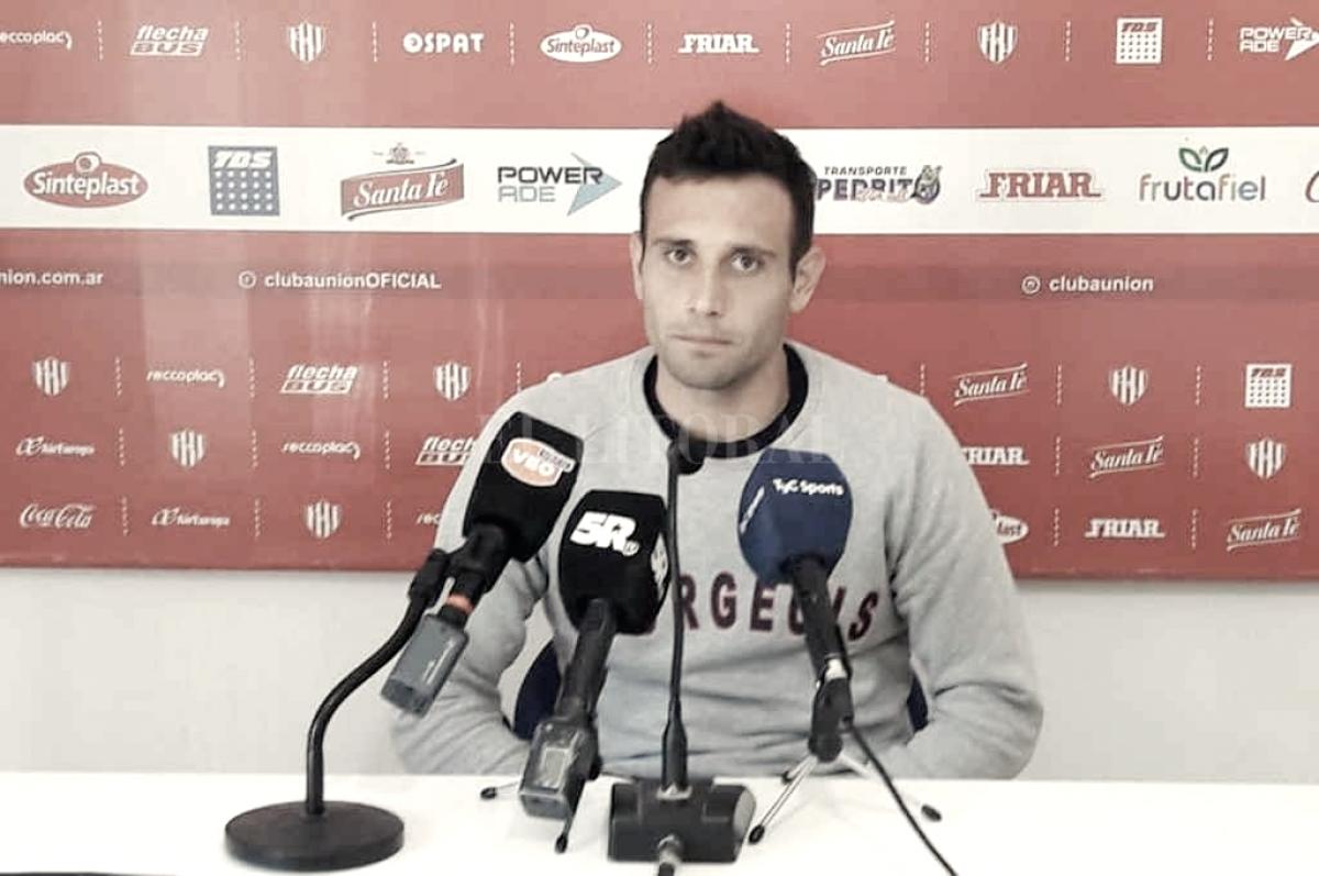 """Corvalán: """"Unión se ganó respeto y eso potenció al club"""""""