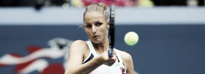 Pliskova estreia com vitória complicada para cima de Linnete no US Open