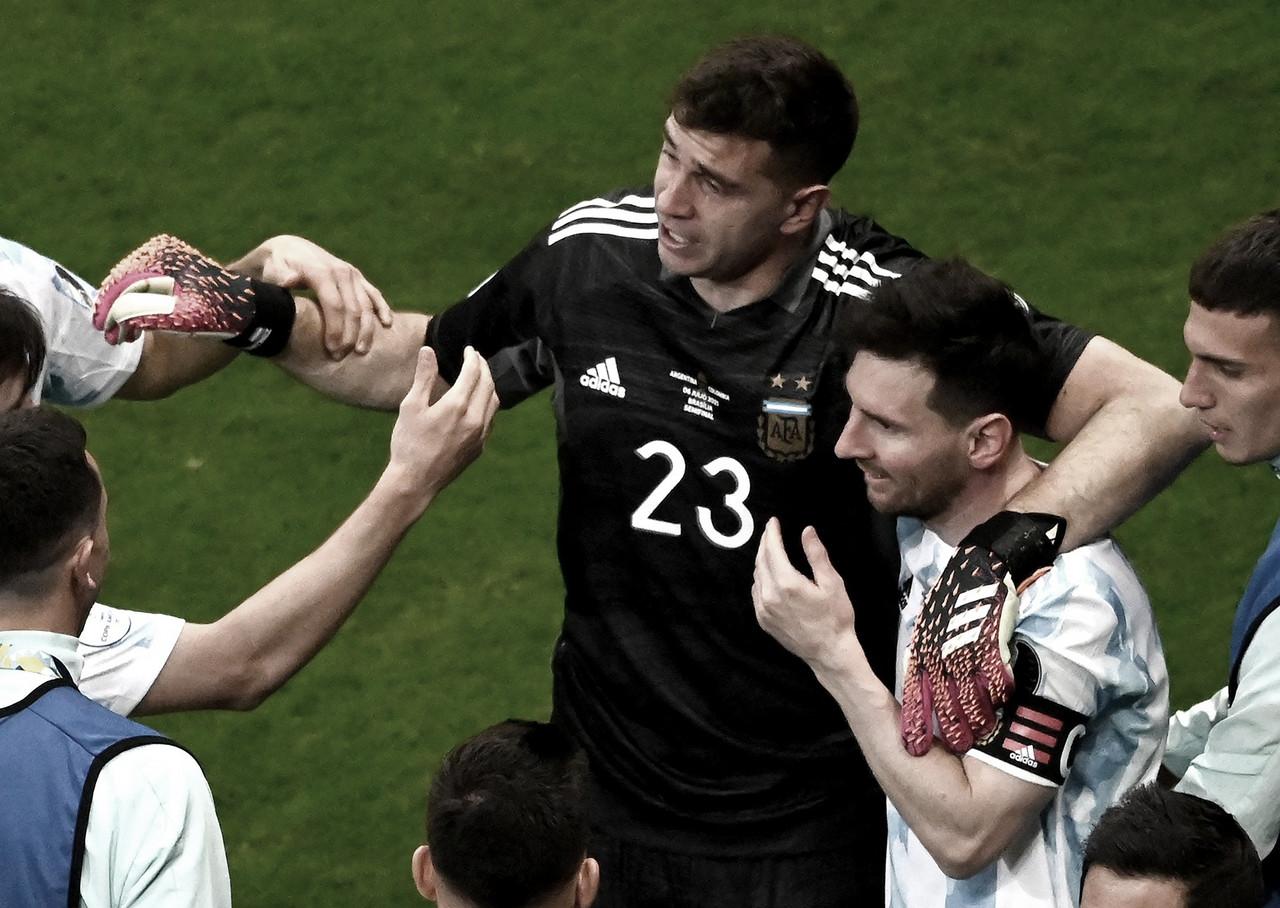 Argentina - Colombia: puntuaciones de Argentina en la semifinal de la Copa América 2021