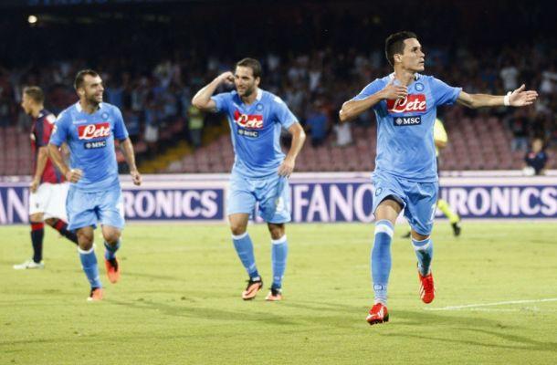 Bologna - Napoli, i due lati della classifica