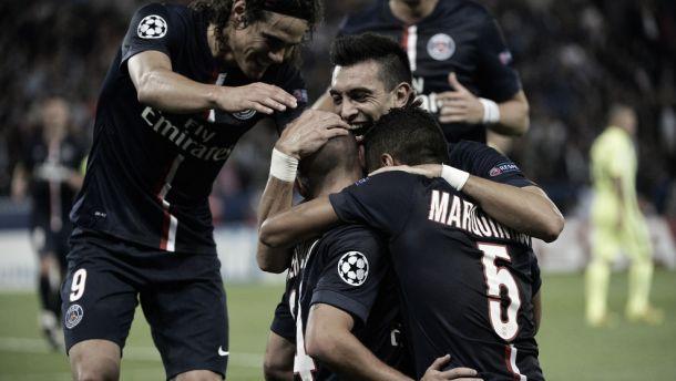 Paris Saint-Germain vence Barcelona e assume a liderança do grupo F da Champions