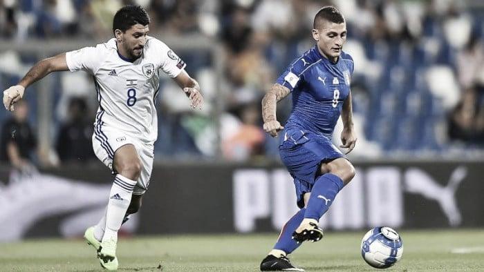 Qualificazioni Russia 2018: vittoria di misura dell'Italia contro Israele, ma così non va (1-0)