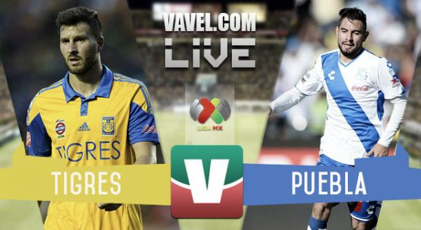Resultado Tigres - Puebla en Liga MX 2015 (0-1)