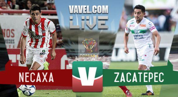 Resultado Necaxa - Zacatepec Copa MX 2015 (3-1)
