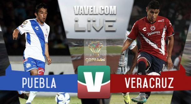 Resultado Puebla - Veracruz en Copa MX 2015 (0-0)
