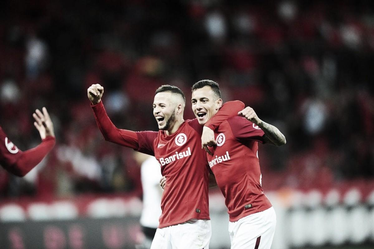 Internacional vence Vasco e confirma vaga no G-4 antes de pausa para Mundial da Rússia