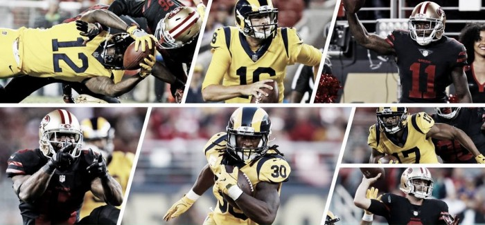 NFL - Continuano a stupire i L.A. Rams, nel Thursday Night battono i San Francisco 49ers