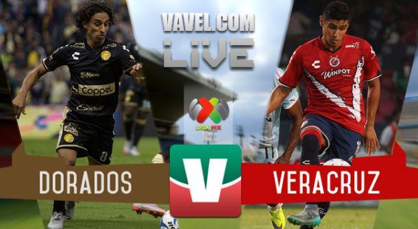 Resultado Dorados - Veracruz en Liga MX 2015 (0-0)