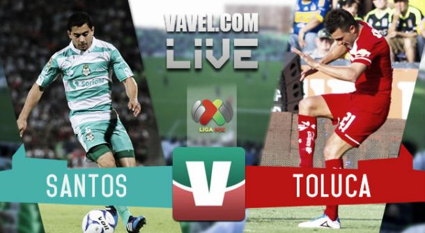 Resultado Santos Laguna - Toluca en Liga MX 2015 (0-0)