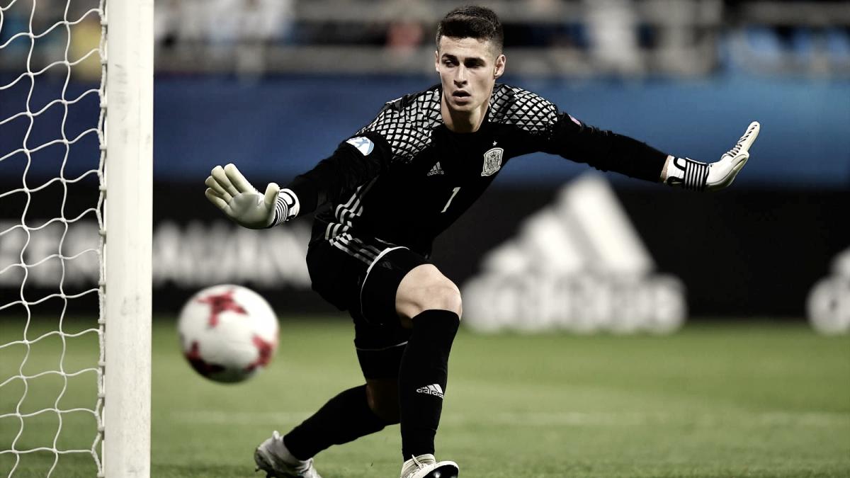 Kepa, toda una realidad en la portería de la selección española