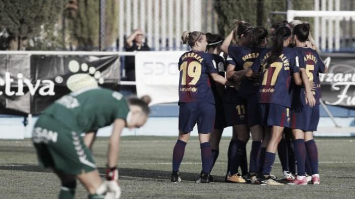 Liga Iberdrola: Barcelona goleia na estreia e Atlético de Madrid vence Albacete de virada