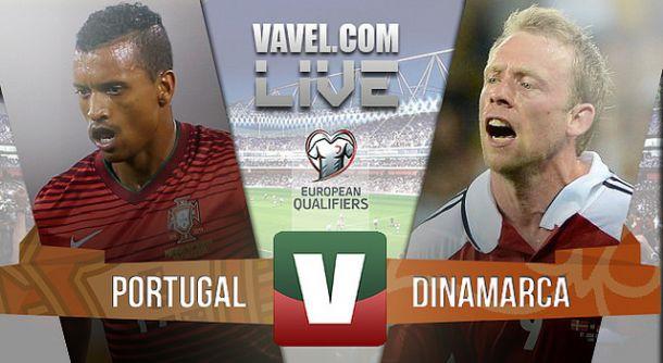 Resultado Portugal x Dinamarca na Qualificação do Euro 2016 (1-0)