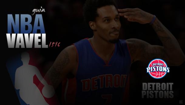Guia VAVEL da NBA 2015/2016: Detroit Pistons