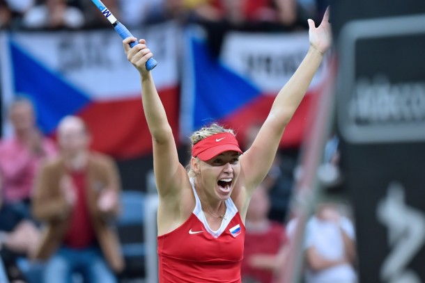 Fed Cup Final: Maria Sharapova Battles Past Petra Kvitova, Gives Russia A 2-1 Lead
