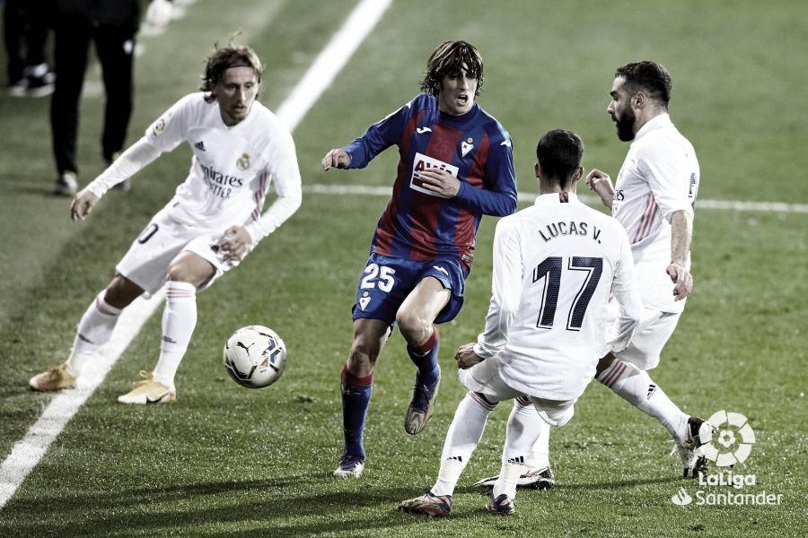 El Madrid se impone con disfagia