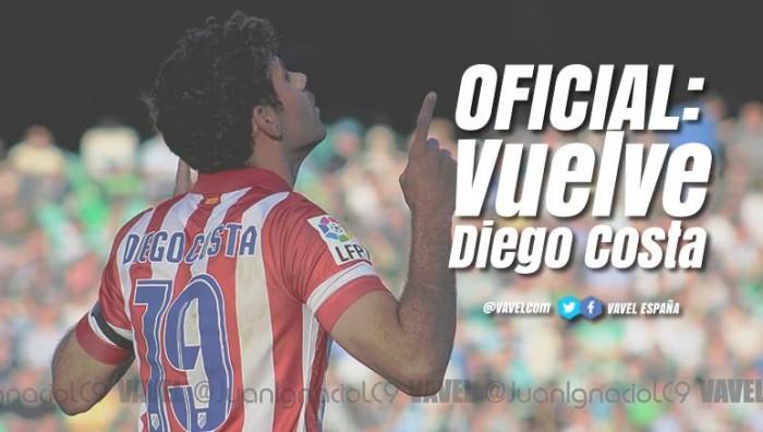 OFICIAL: Diego Costa vuelve al Atlético de Madrid
