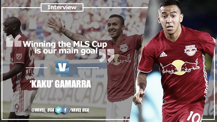 """Interview. 'Kaku' Gamarra: """"Winning the MLS Cup is our main goal"""""""