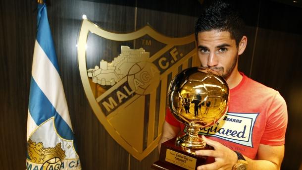 Isco, galardonado con el premio Golden Boy 2012