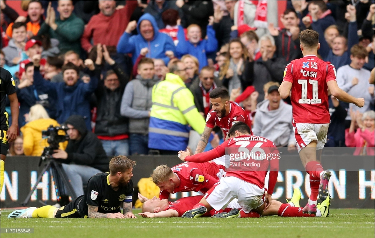 Nottingham Forest 1-0 Brentford - Hosts move into top two with impressive win
