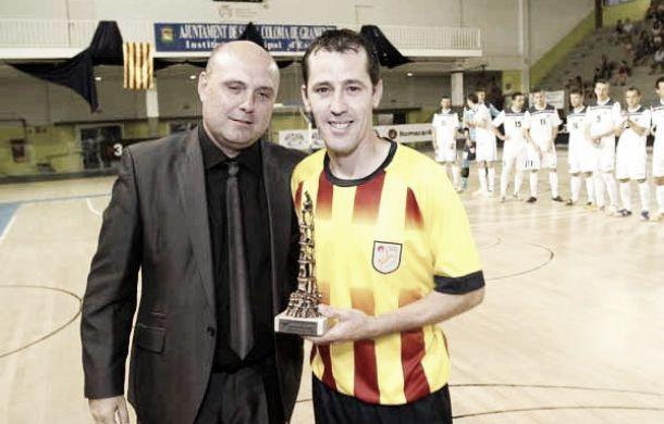 Catalunya vence a Eslovaquia en la despedida de Diego Blanco