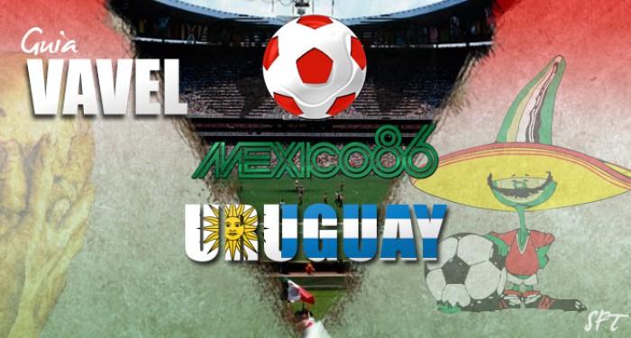 Guía VAVEL Mundial México 1986: Uruguay