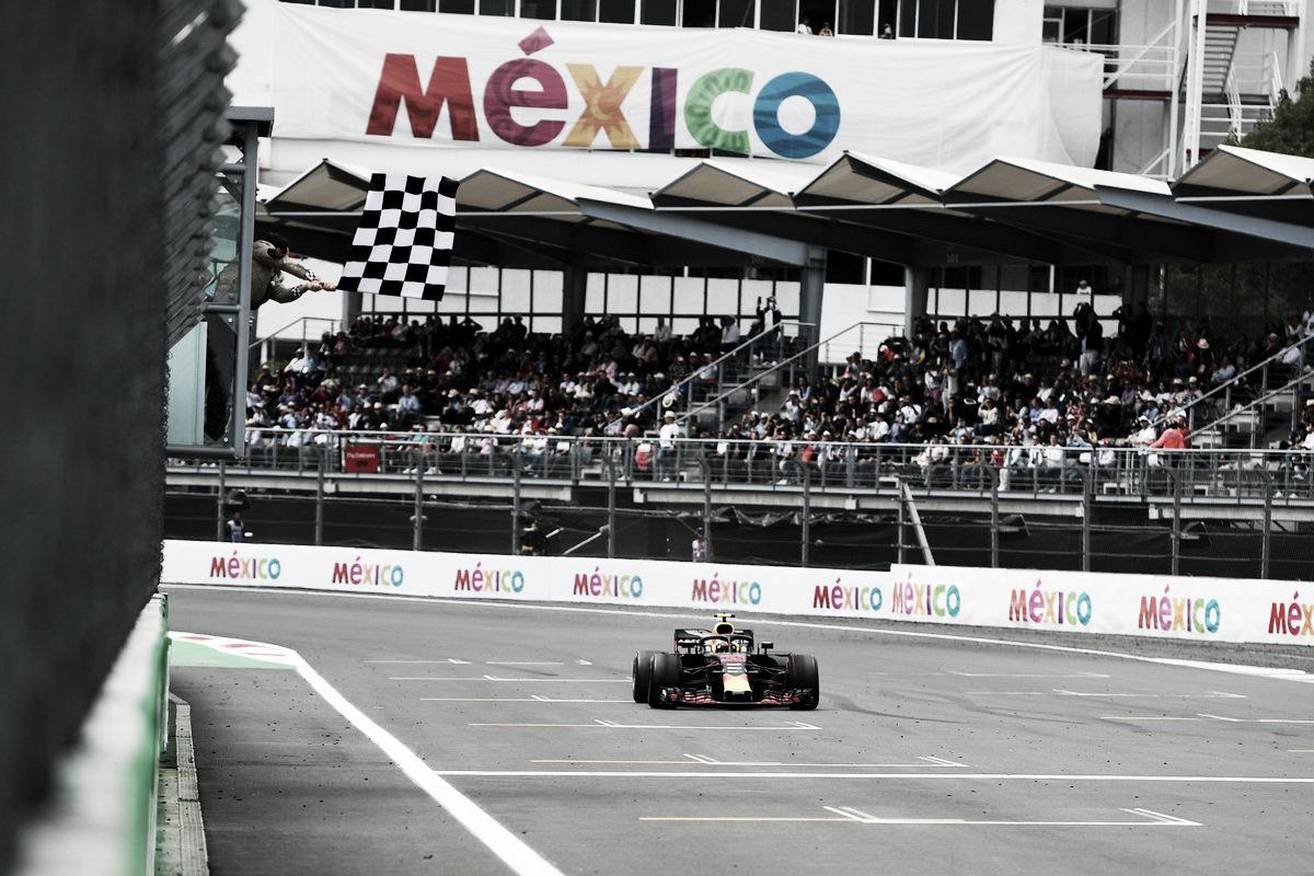 Verstappen gana en la coronación de Hamilton