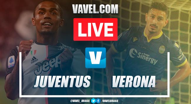 Gols e melhores momentos Juventus 2x1 Verona pelo Campeonato Italiano