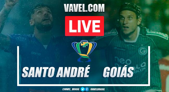 Gols e melhores momentos para Santo André 0x2 Goiás pela Copa do Brasil 2020
